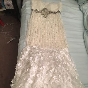 NEW with tags NWT Sue Wong ivory wedding dress